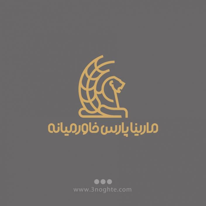 لوگو شرکت مارینا پارس خاورمیانه